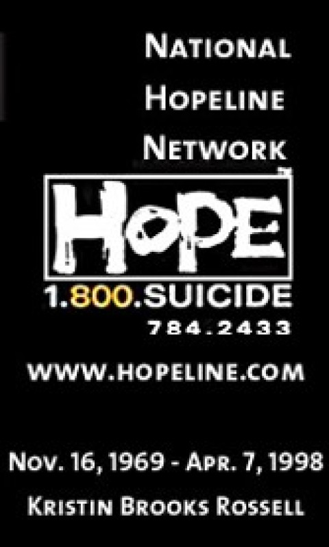 Difference between 1-800-SUICIDE and 1-800-273-TALK